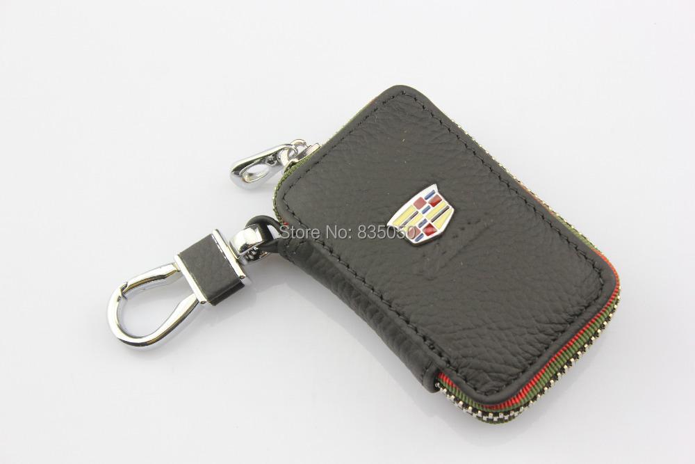 Buy Key Case Holder bag Chain Fob for cadillac CTS SRX XTS ATS