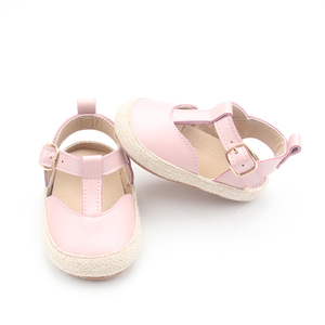 326b189c1ba3 Summer Wholesale baby sandal soft sole kids shoes leather baby girl sandals