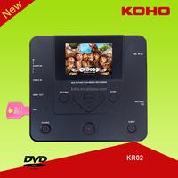 AV IN USB SD onto inbuilt Panasonic DVD combo VCR Camera TV recorder