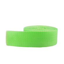 wholesale high quality Custom color polypropylene webbing for bag