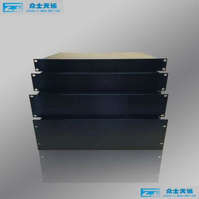 "4U / 177x483x350mm 19"" standard u Chassis industrial computer case rack mount server chassis custom depth"