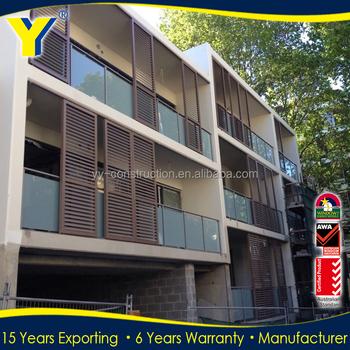 En Aluminium Pare Soleil Fenêtre à Lamelles Pour Balcon Utilisation