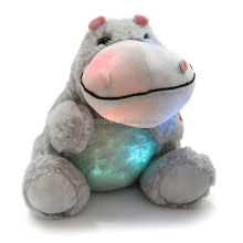 Dropshipping Night Light Stuffed Animal LED Plush Toy Hipoo Baby Toy