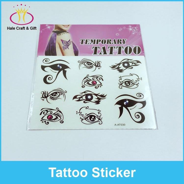 Adhesive Adult Body Intim Tattoo Sticker Colorful - Buy