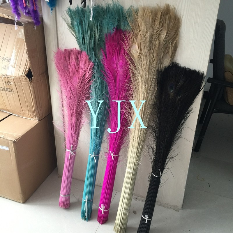 cheap dyed artificial peacock feathers for sale vase. Black Bedroom Furniture Sets. Home Design Ideas