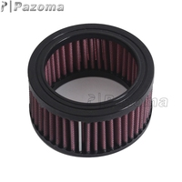HIgh Air Flow Exceptional Filtration Round Red Filters Cleaner Motorbike Air Cotton Gauze Air Filter