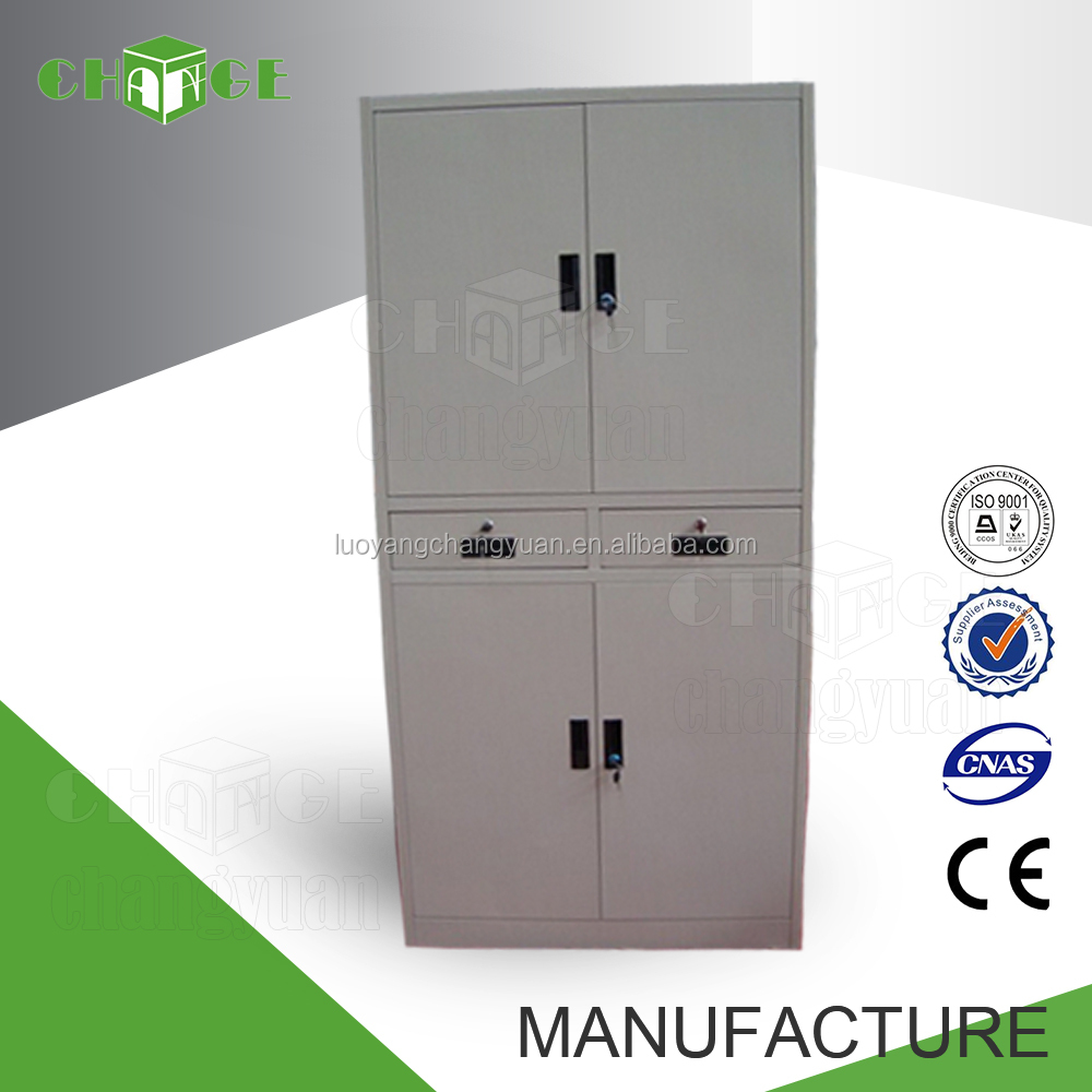 Professional manufacturer KD steel filing cabinet with doors and drawers