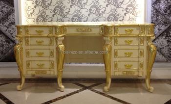 Luxus Antike Vergoldete Schlafzimmer Schminktisch,Französisch Louis ...