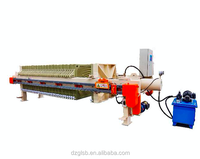 Fully automatic power chamber filter press machine