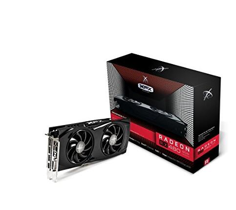 XFX RX-480P8DFA6 AMD Radeon GTR 8GB GDDR5 DVI/3Displayport PCI-Express Video Card