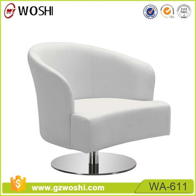Modern design witte eetkamer restaurant cafe tafel en stoel meubilair draaibare lederen stoel - Moderne zwart witte lounge ...