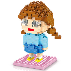 LOZ online kid connection plastic best selling enlighten ideal building blocks for girls