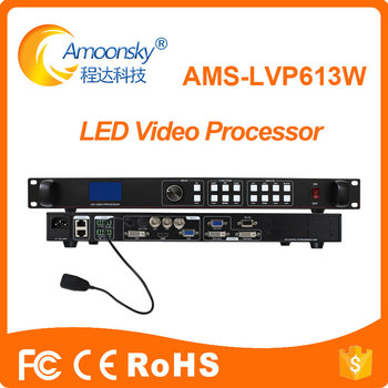 Latest design led display controller AMS-LVP613W mobile control processor factory price wifi led controller
