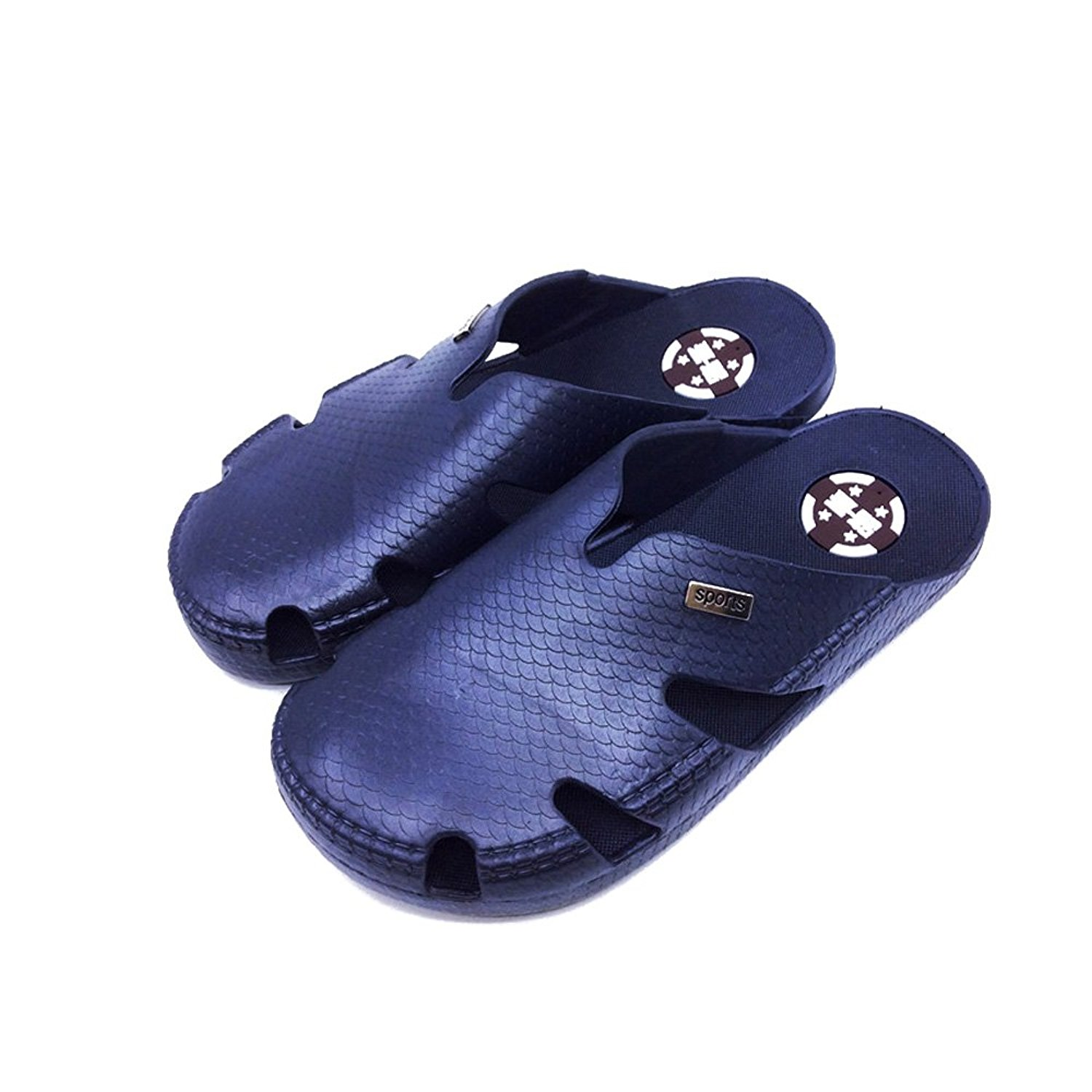 379e525f5 Get Quotations · IUU Mens Beach Sandals Bath Slippers Non-Slip Sandals  House Slippers