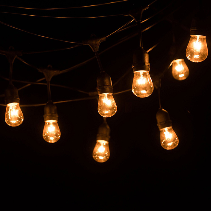 Wateproof S14 E27 LED String Light for Christmas Decoration
