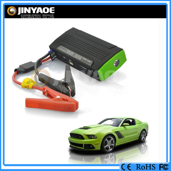 high capacity mobile power bank auto jump starter 13600 mah battery pack