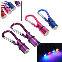 Factory price LED Collar Tag New Cool Flashing Colorful LED Collar Tag Pet Led Flashing Drop Pendant Night Safety Warning Tag