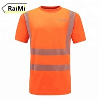Reflective high visibility t shirts safety high visibly shirts