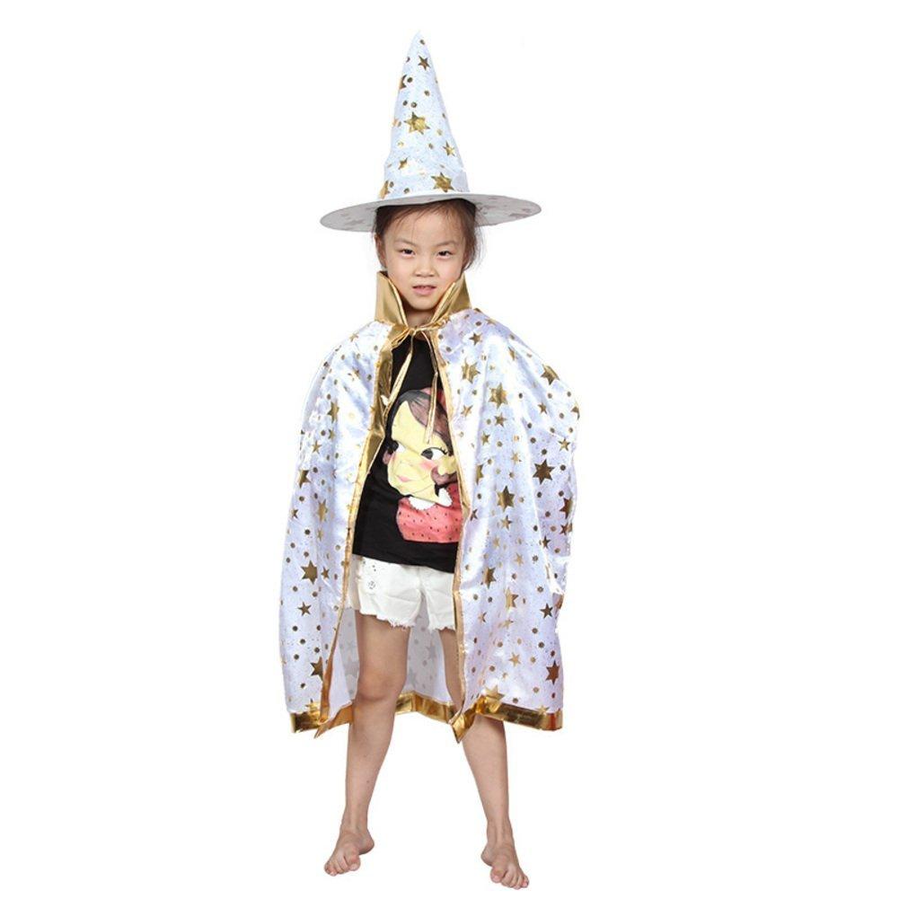 Halloween Cloak/children's clothing/Magician cloak/Child witch/Cloak cloak cap-F