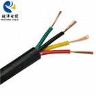 Cable Flexible Electrical Cable Wire Flexible Copper Cable RVV 4 Core Cable