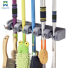 Wall Mounted Mop and Broom Holder, Storage Solutions for Broom Holders Garage Storage Systems Broom Organizer