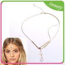 Fashion women chain hair jewelry ,H0T845 metal headpiece