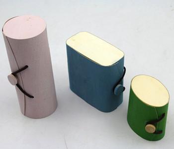 Customize Colored Cork Bark Box Wood Natural BirchVeneer Tea Essential Oil Packaging Box
