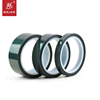 Customized Size Green Single Side Self Adhesive Tape/ Silicone Tape / Pet Tape