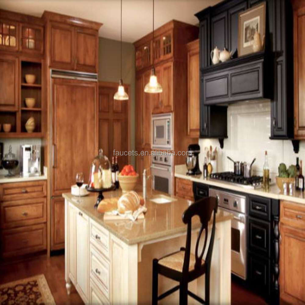 Antique Modular Wooden Kitchen Cupboard