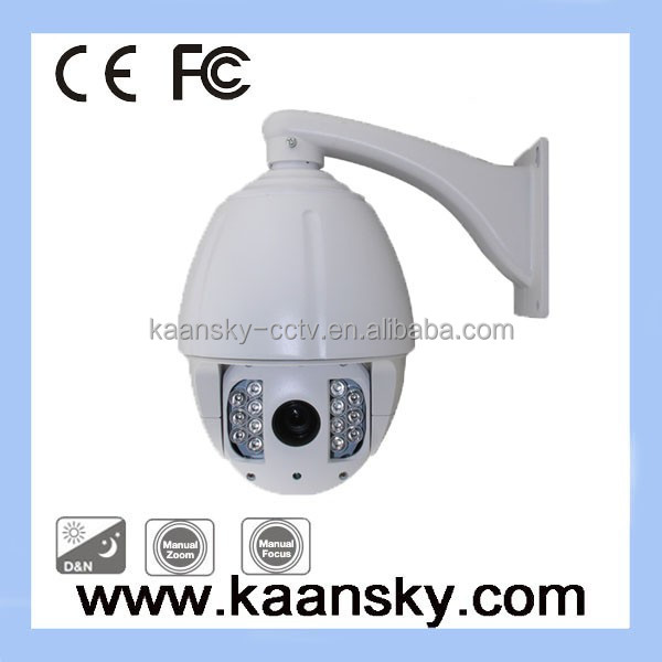 outdoor infrared 27X optical zoom cmos 1000tvl PTZ camera