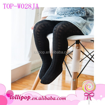 5e3a7a8d4fa Wholesale Young Girl Tights Pantyhose Solid Black Children Kids Baby  Seamless Tube Pantyhose Japanese Legging Stocking
