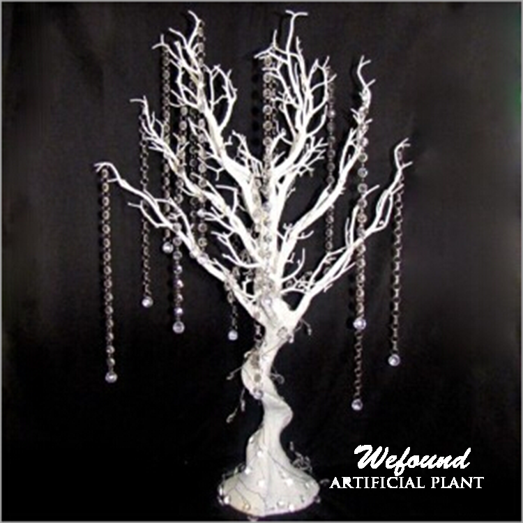 White Manzanita Tree Centerpieces For Table Decoration