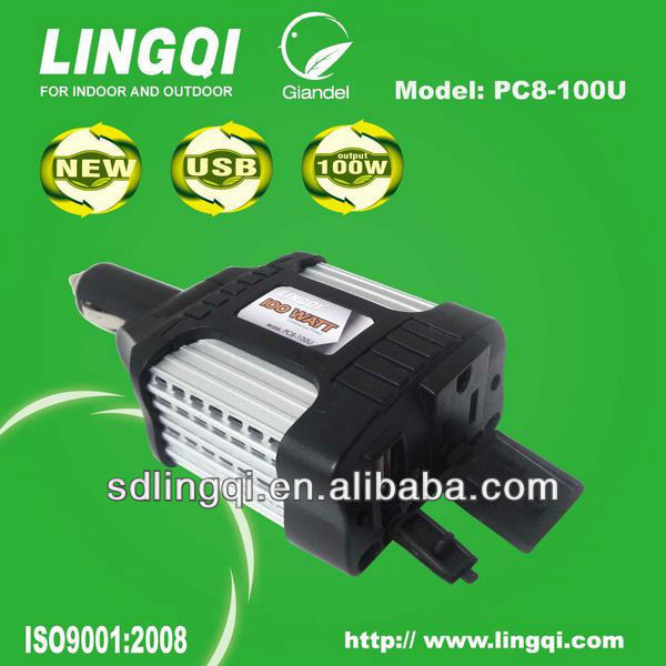 lincoln 100W car power inverter DC TO AC
