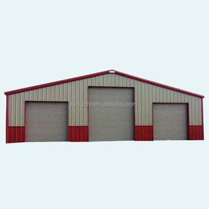 prefab steel structure building/Steel Building Car Port Storage Shed Vehicle Van Garage prefabricated