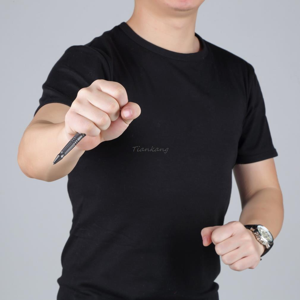 Профессиональный самообороны тактический выживание ручка портативный мульти-карман fonction кемпинг инструмент авиационного алюминия новая акция