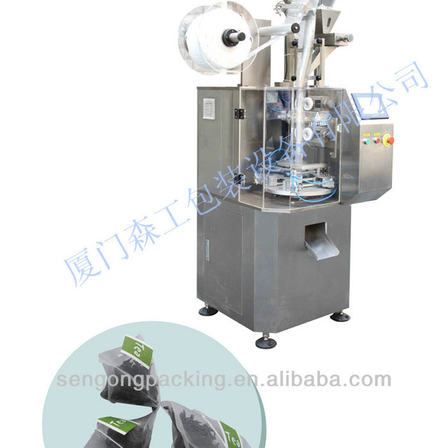 C20 Stainless nylon pyramid and square tea bag making machine