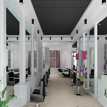 Customized Hair Salon Furniture / Salon Chairs / Mirrors And Cabinet From  China