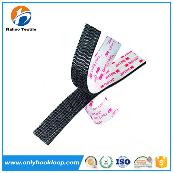 Double sided tape adhesive hoop and loop, hook and loop 3m adhesive tape
