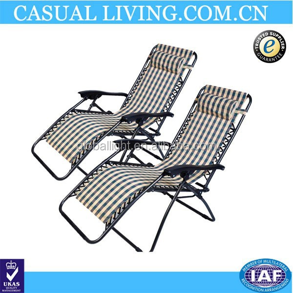 Outdoor Sling Reclining Chair