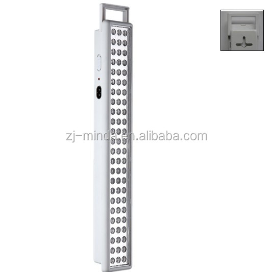 led hanging lights outdoor MINDA (EL848 L72) wall mounted 72 led rechargeable emergency light