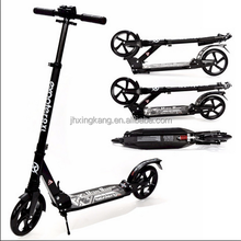 Suspension Push Scooter 230MM big wheel Full Aluminum folding adult kick el scooter cheap scooter with GS certification