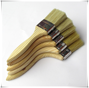 Hot Sell Wooden Handle Nature Bristle Paint Brush For Wholesale 99 Cent Store Items