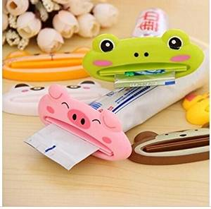 Drhob Multi function automatic toothpaste machine cute cartoon toothpaste squeezing device Cleansing Cream squeezer