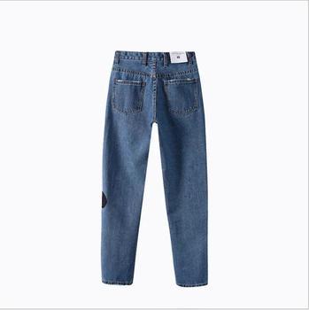 5b9bfe1d4 K2359A última moda bordado mujeres jeans pantalones vaqueros Venta caliente  de las mujeres de Europa