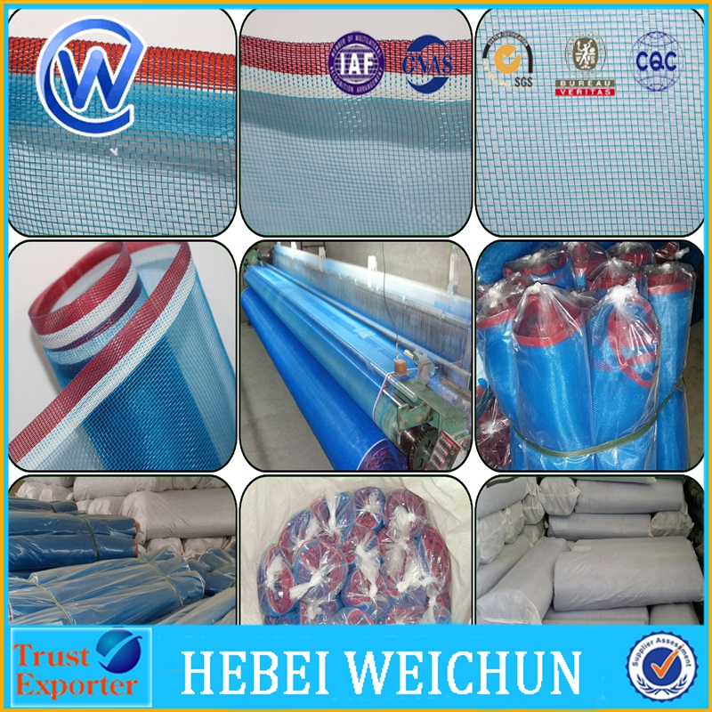 Nylon Net 100% HDPE/ Bright Blue Color PE Screen Sea food Drying mesh