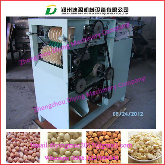 Automatic electricity food processing machinery wet way beans and peas peeling machine