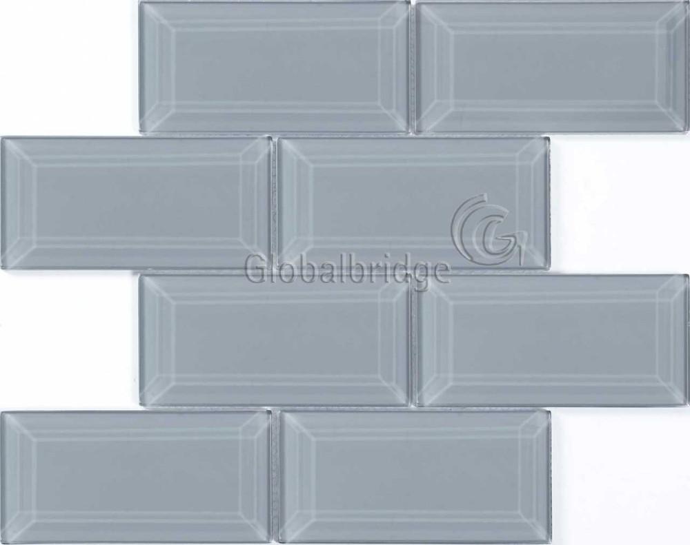 Mode Grau Farbe Küche Wandfliesen Glas Fliesen U-küche Fliesen - Buy ...