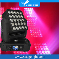 China Guangzhou Supplier LCD Display 5*5 Matrix LED Moving head Light