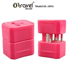 Cheapest corporate gifts OEM mini adapter plug SL-169A custom branding gifts creative electronic power adapter gifts