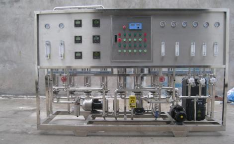 Whole membrane technology UF+RO+EDI deep desalination pure water system
